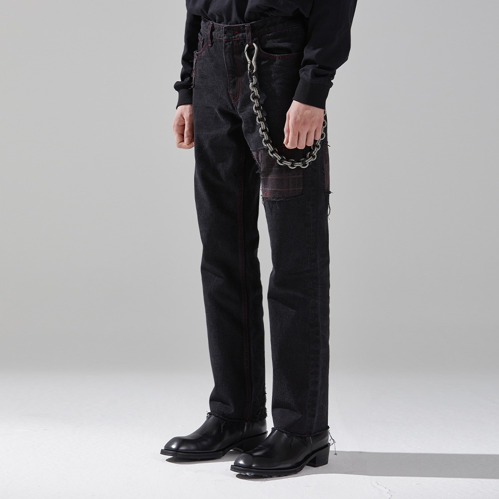 REVOLUTION DENIM TROUSERS메종미네드 MAISON MINED 메종미네드