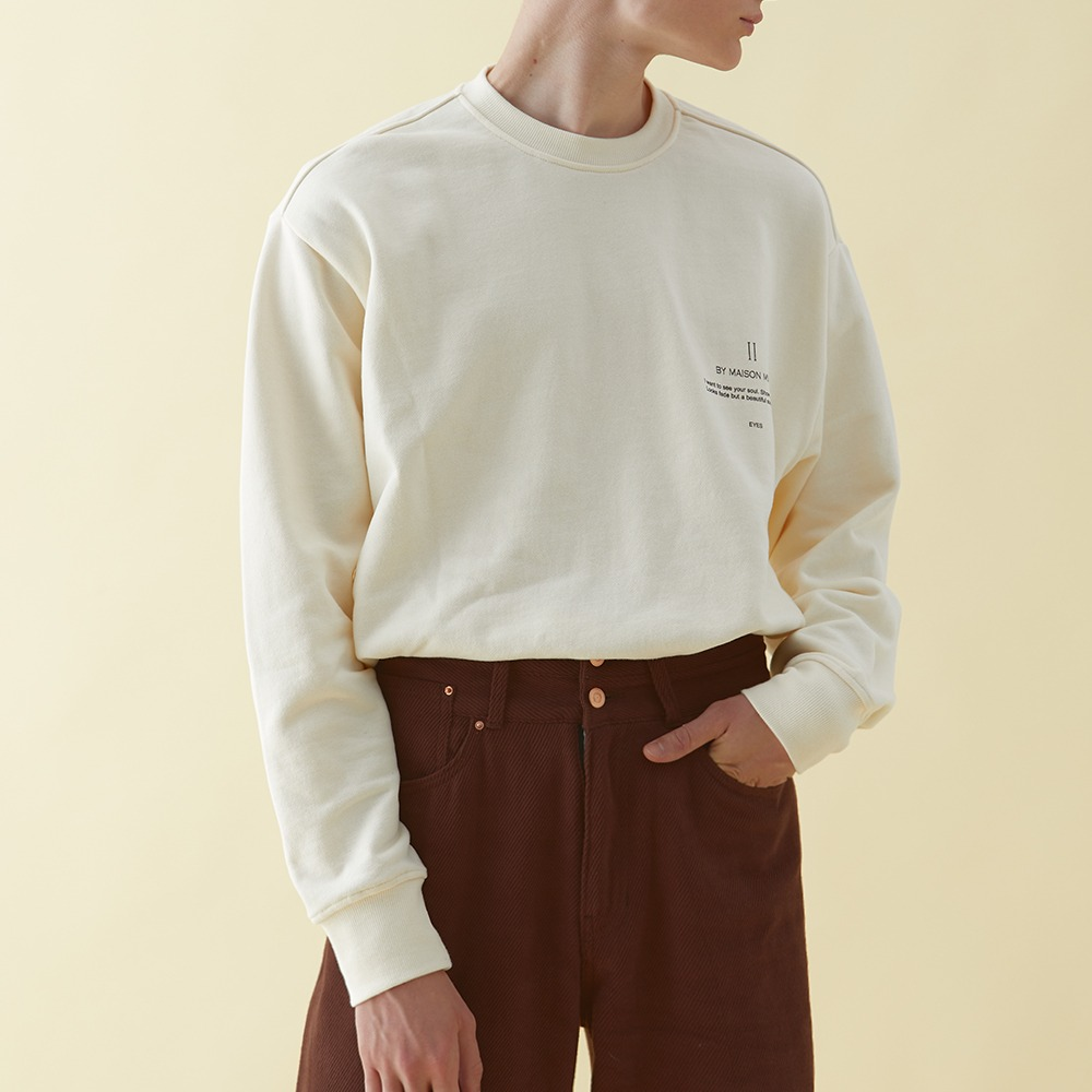 DOUBLE LAYERED CORDUROY WIDE PANTS BROWN메종미네드 MAISON MINED 메종미네드