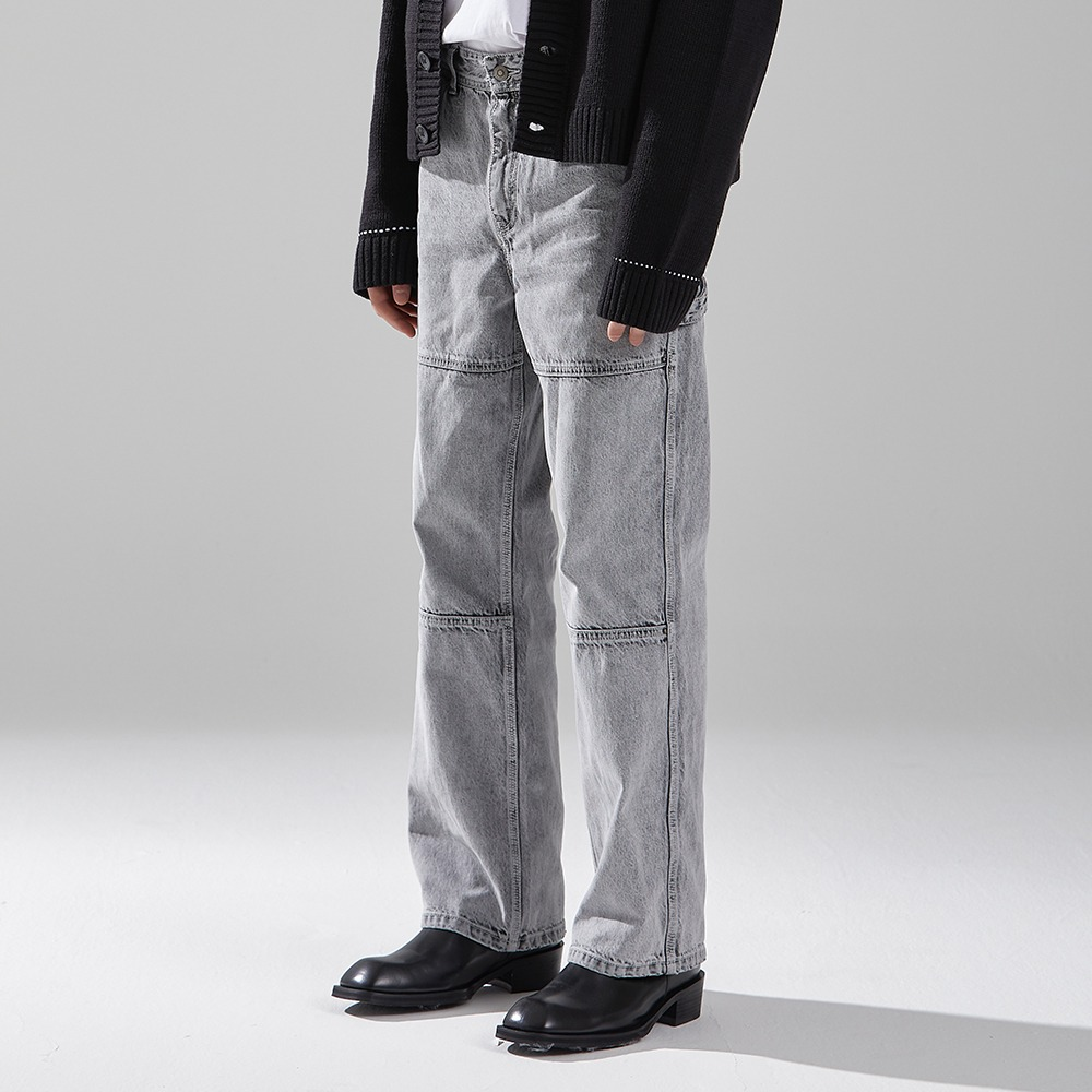 WHITE SPREAD CARPENTER DENIM메종미네드 MAISON MINED 메종미네드
